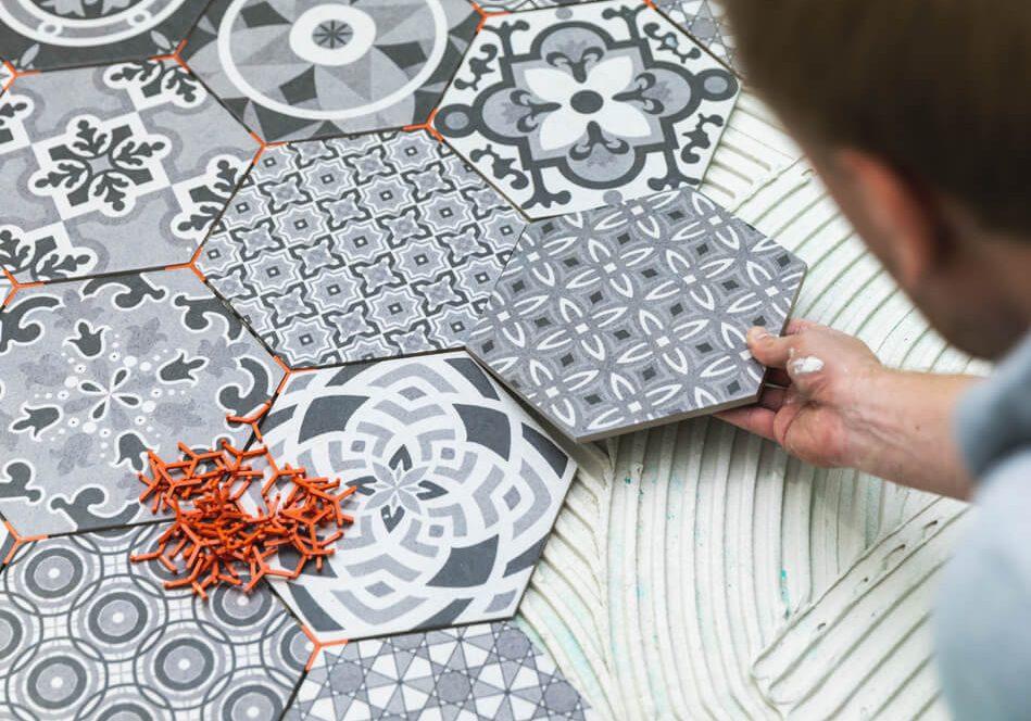 Ceramic Tile Installation   LA Carpet Warehouse, Inc